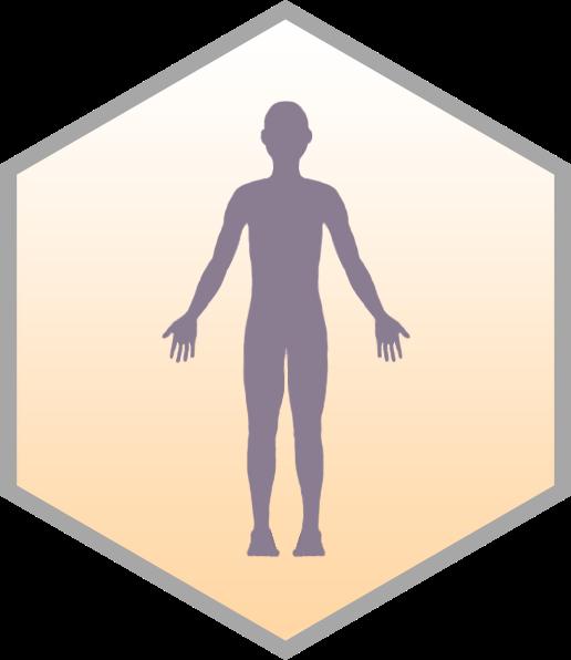hexagonal human thumbnail